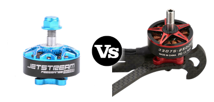 EGODRIFT Atom 2306 vs SZ-Speed 2307S